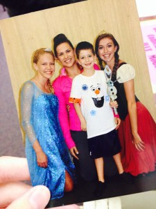 Photo from our summer Frozen themed Dance Camp!